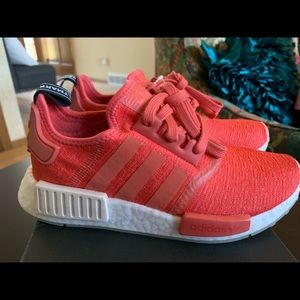 adidas Shoes - Adidas NMD size 5 red coral tennis shoes
